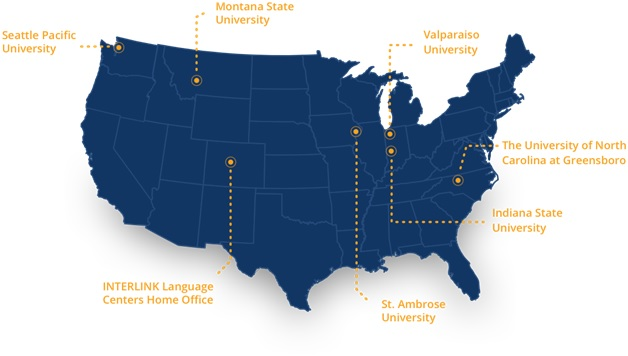 Valparaiso Campus Map.American Consortium Of Universities Interlink In Usa Bachelor