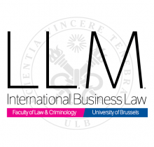LL.M. En Droit International Des Affaires