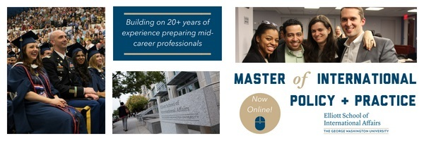 Master of International Policy and Practice